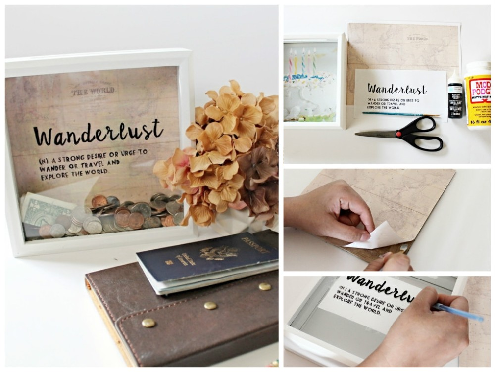 Wanderlust Travel Frame