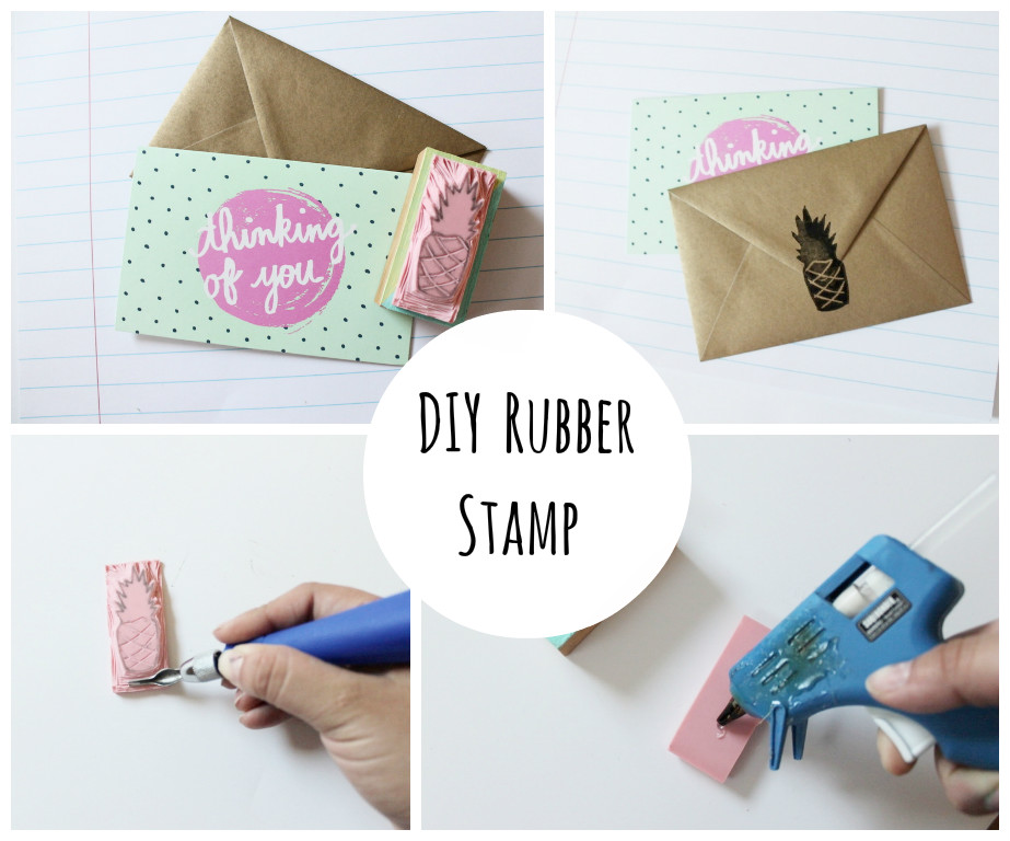 diy rubber stamp